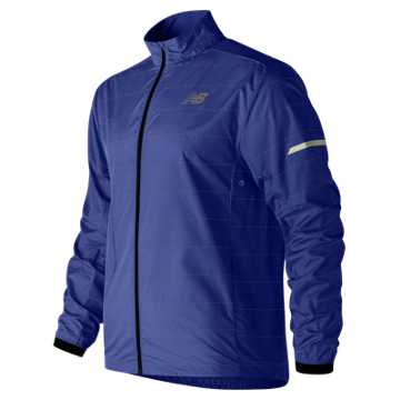 New Balance Reflective Packable Jacket, Pacific