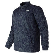 NB Classic Printed Coaches Jacket, Moontide