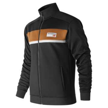 New Balance NB Athletics Track Jacket, Brown Sugar