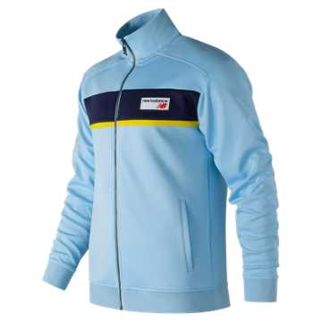 New Balance NB Athletics Track Jacket, Clear Sky