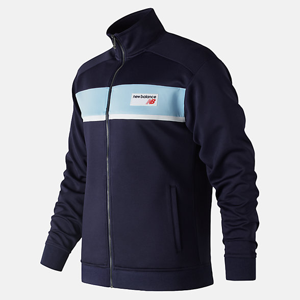 NB NB Athletics Track Jacket, MJ81551PGM