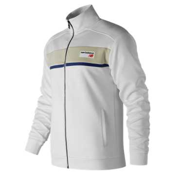 New Balance NB Athletics Track Jacket, White