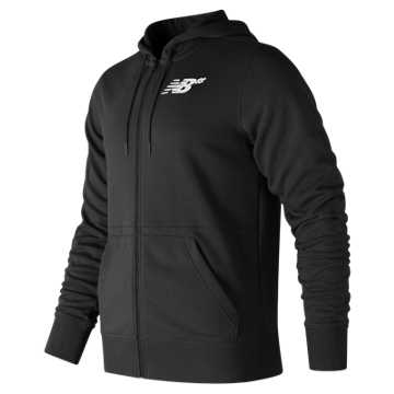 New Balance NB Numeric Hex Zip Up Fleece, Black