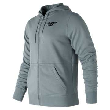 New Balance NB Numeric Hex Zip Up Fleece, Slate