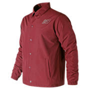 NB Classic Coaches Jacket, Scarlet