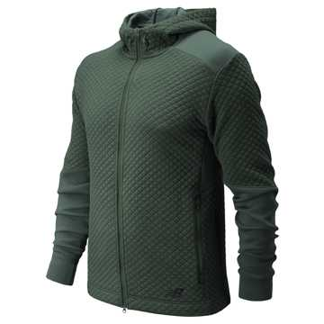 New Balance NB Heat Loft Full Zip Hoodie, Faded Rosin