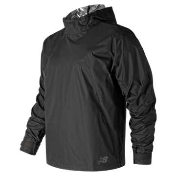New Balance RADIANT HEAT Anorak, Black