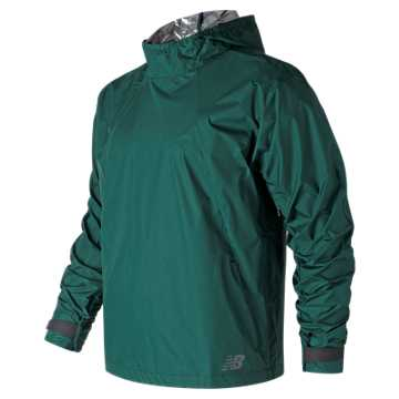 New Balance RADIANT HEAT Anorak, Deep Jade