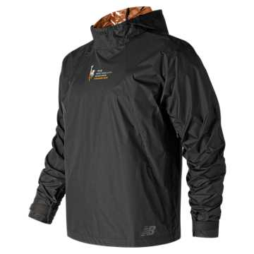 New Balance NYC Marathon Radiant Heat Finisher Anorak, Black