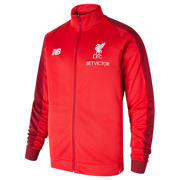 NB LFC FC Elite Training Presentation Jacket, Racing Red