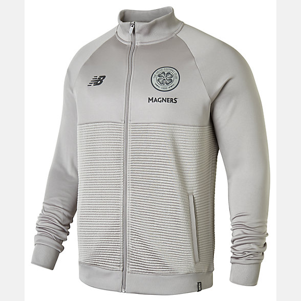 New Balance Celtic FC Elite Training Walk Out Jacket, MJ831051FNG