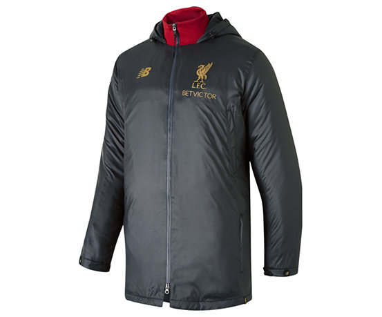 check out 7e75c 419b0 NB Liverpool FC Managers Jacket, Phantom