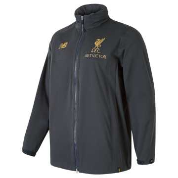 New Balance Liverpool FC Managers Rain Jacket, Phantom