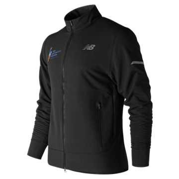 New Balance NYC Marathon Winterwatch Finisher Jacket, Black