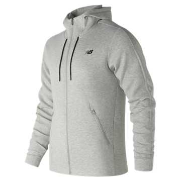 New Balance 247 Luxe Fleece Jacket, Athletic Grey