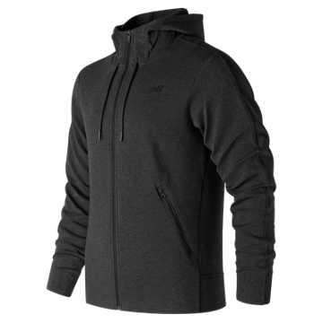 New Balance 247 Luxe Fleece Jacket, Black