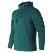 NB 247 Luxe Fleece Jacket, Deep Jade