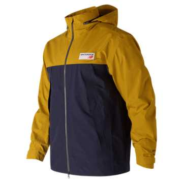New Balance NB Gore Tex 78 Jacket, Pigment with Gold Rush
