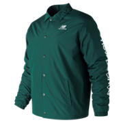 NB Essentials Winter Coaches Jacket, Deep Jade