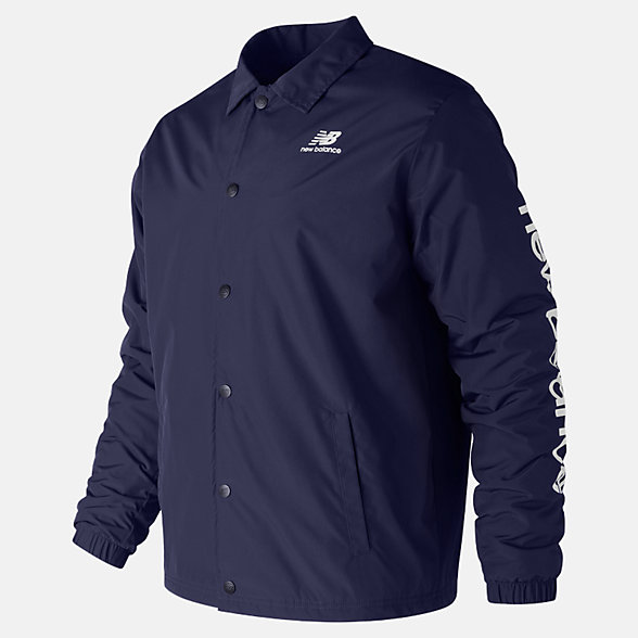 New Balance Essentials Winter Coaches Jacket, MJ83511PGM