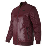 NB NB Thermal Bomber  Jacket, Burgundy