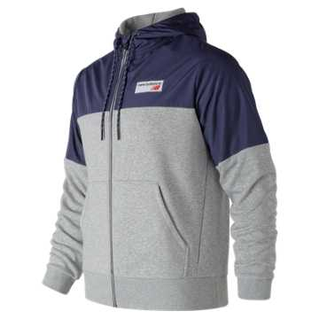 New Balance NB Athletics  Hoodie, Athletic Grey
