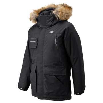 New Balance Patrol Down Jacket, Black
