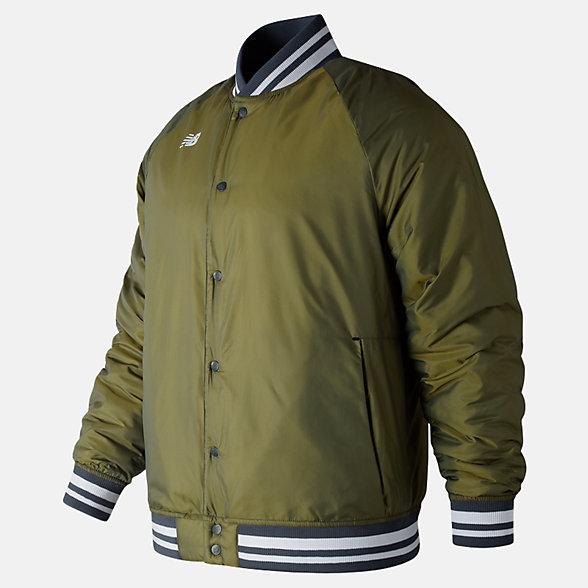 New Balance Dug Out Jacket, MJ83710DCG