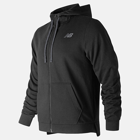NB Sudadera Con Capucha NB Warm Up Full Zip, MJ91012BK
