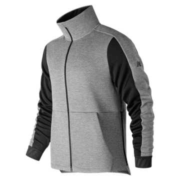 New Balance R.W.T. Double Knit Jacket, Athletic Grey