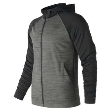 New Balance Anticipate 2.0 Jacket, Heather Charcoal