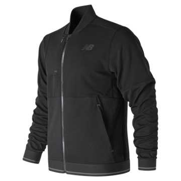 New Balance Restore Bomber Jacket, Black