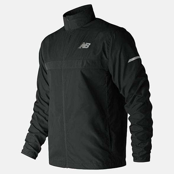 New Balance Windcheater 2.0 Jacket, MJ91180BK