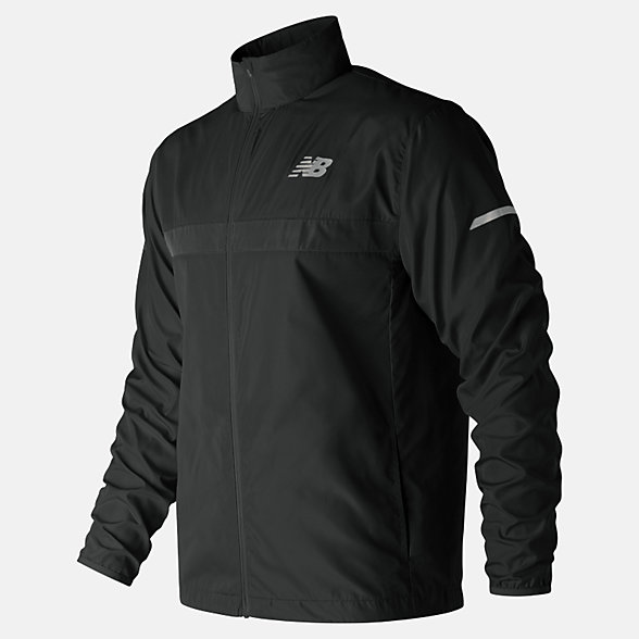 New Balance Windcheater 2.0 Jacket, MJ91180BK