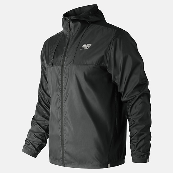 New Balance Lite Packjacket 2.0, MJ91240BK