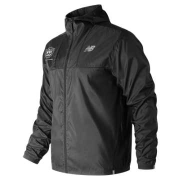 New Balance United Airlines Half Light Packjacket, Black