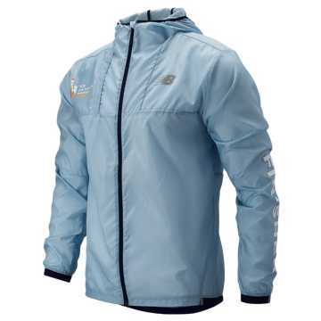 New Balance NYC Marathon Light Packjacket, Winter Sky