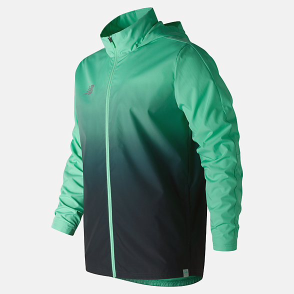 NB Elite Tech Training Rain Jacket, MJ913005NMB