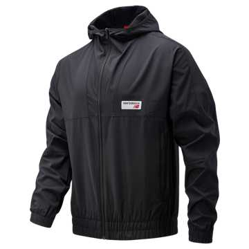 New Balance NB Athletics Windbreaker, Black