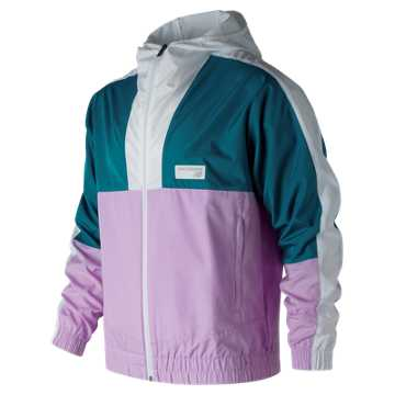 New Balance NB Athletics Windbreaker, Dark Neptune
