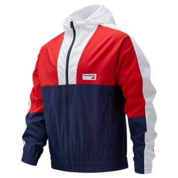 New Balance NB Athletics Windbreaker, Team Red