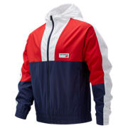 NB NB Athletics Windbreaker, Team Red