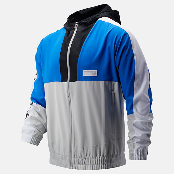 New Balance NB Athletics Windbreaker, MJ91506VCT