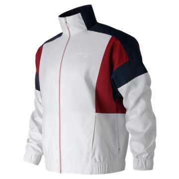 New Balance NB Athletics Select Jacket, White