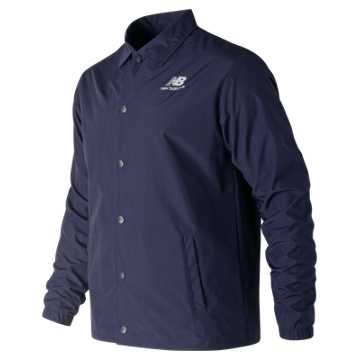 New Balance Classic Coaches Stacked Jacket, Pigment