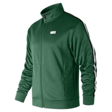New Balance NB Athletics Track Jacket, Team Forest Green