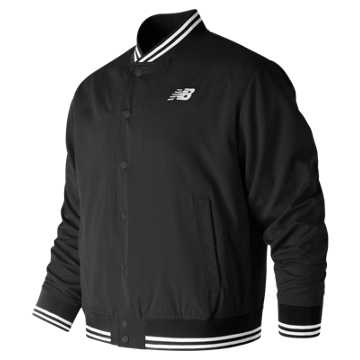 New Balance Essentials Stadium Jacket, Black