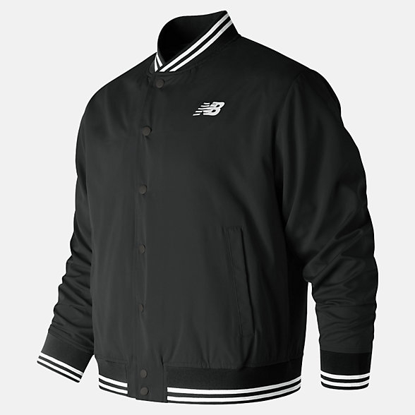 New Balance Essentials Stadium Jacket, MJ91574BK
