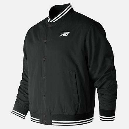 New Balance Essentials Stadium Jacket, MJ91574BK image number null