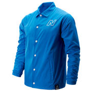 New Balance NB Modern Coaches Jacket, Lapis Blue